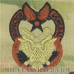 監察官章(Inspector General Badge)[OCP/ブラウン刺繍/パッチ]の画像
