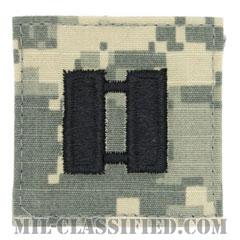 大尉(Captain (CPT))[UCP(ACU)/階級章/ベルクロ付パッチ]の画像