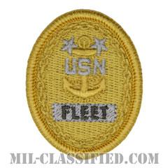 Fleet Master Chief Petty Officer[NWU Type1用/メロウエッジ/パッチ]の画像