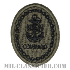 Chief Petty Officer of the Command[NWU Type3(AOR2)用/メロウエッジ/パッチ]の画像