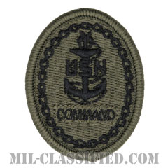 Senior Chief Petty Officer of the Command[NWU Type3(AOR2)用/メロウエッジ/パッチ]の画像