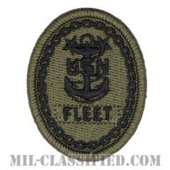 Fleet Master Chief Petty Officer[NWU Type3(AOR2)用/メロウエッジ/パッチ]の画像