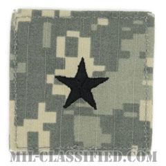准将(Brigadier General (BG))[UCP(ACU)/階級章/ベルクロ付パッチ]の画像