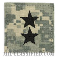 少将(Major General (MG))[UCP(ACU)/階級章/ベルクロ付パッチ]の画像