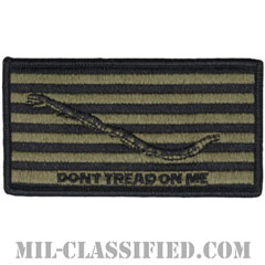 First Navy Jack(Don't Tread on Me)NWU Type3 AOR2[ベルクロ付パッチ]画像