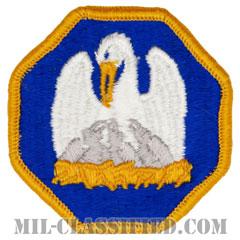 ルイジアナ州 州兵(National Guard, Louisiana)[カラー/メロウエッジ/パッチ]の画像