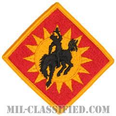 第115野戦砲兵旅団(115th Field Artillery Brigade)[カラー/メロウエッジ/パッチ]の画像
