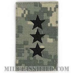 中将(Lieutenant General (LTG))[UCP(ACU)/階級章/ベルクロ付パッチ]の画像
