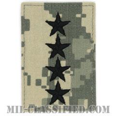 大将(General (GEN))[UCP(ACU)/階級章/ベルクロ付パッチ]の画像