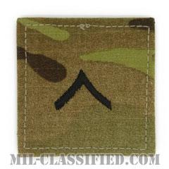 一等兵(Private Second Class (PV2))[OCP/階級章/ベルクロ付パッチ]の画像