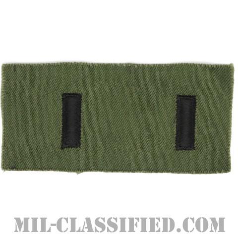 中尉(First Lieutenant (1LT))[サブデュード/階級章/1960s/コットン100%/パッチ/ペア(2枚1組)]の画像