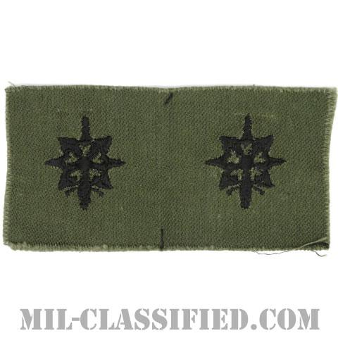 情報科章(Military Intelligence Corps)[サブデュード/兵科章/1960s/コットン100%/パッチ/ペア(2枚1組)]の画像