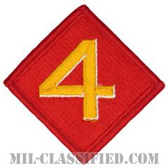 第4海兵師団(4th Marine Division)[カラー/メロウエッジ/パッチ]の画像