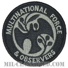 多国籍軍監視団(Multinational Force and Observers / MFO)[UCP(ACU)/メロウエッジ/ベルクロ付パッチ]の画像