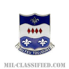 第312歩兵連隊(312th Infantry Regiment)[カラー/クレスト(Crest・DUI・DI)バッジ]の画像