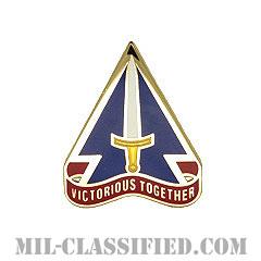 治安部隊支援部隊(Security Force Assistance Command)[カラー/クレスト(Crest・DUI・DI)バッジ]の画像