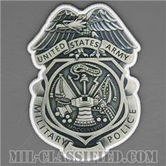 憲兵章(Military Police Badge)[カラー/ベスト用/ベルクロ付パッチ]の画像