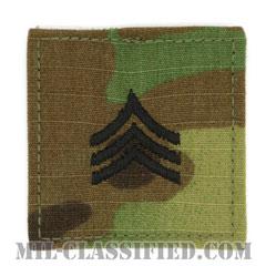 軍曹(Sergeant (SGT))[OCP/階級章/ベルクロ付パッチ]の画像