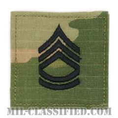 一等軍曹(Sergeant First Class (SFC))[OCP/階級章/ベルクロ付パッチ]の画像