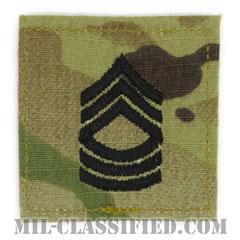 曹長(Master Sergeant (MSG))[OCP/階級章/ベルクロ付パッチ]の画像
