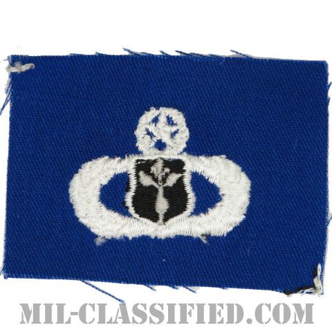 気象章 (マスター)(Meteorologist Badge, Master)[カラー/空軍ブルー生地/パッチ]の画像