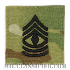 先任曹長(First Sergeant (1SG))[OCP/階級章/ベルクロ付パッチ]の画像