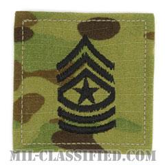 上級曹長(Sergeant Major (SGM))[OCP/階級章/ベルクロ付パッチ]の画像