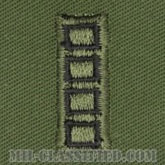 准尉 (MW4/CW5)(Master Warrant Officer/Chief Warrant Officer 5)[サブデュード/階級章(1988-2004)/パッチ/ペア(2枚1組)]の画像