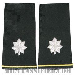 中佐(Lieutenant Colonel (LTC))[グリーン/ショルダー階級章/ロングサイズ肩章/ペア(2枚1組)]の画像