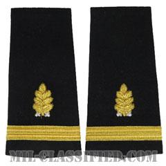 少尉 歯科医科(Ensign (ENS), Dental Corps)[ショルダー階級章/ペア(2枚1組)]の画像
