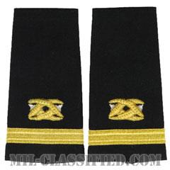 少尉 土木科(Ensign (ENS), Civil Engineer Corps)[ショルダー階級章/ペア(2枚1組)]の画像