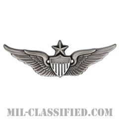 飛行士章 (シニア・パイロット)(Army Aviator (Pilot), Senior)[カラー/燻し銀/バッジ]の画像
