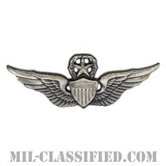 飛行士章 (マスター・パイロット)(Army Aviator (Pilot), Master)[カラー/燻し銀/バッジ]の画像