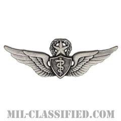 飛行医師章 (マスター)(Flight Surgeon, Master)[カラー/燻し銀/バッジ]の画像