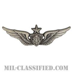 航空機搭乗員章 (シニア・エアクルー)(Army Aviation Badge (Aircrew), Senior)[カラー/燻し銀/バッジ]の画像