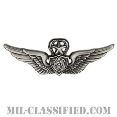 航空機搭乗員章 (マスター・エアクルー)(Army Aviation Badge (Aircrew), Master)[カラー/燻し銀/バッジ]の画像