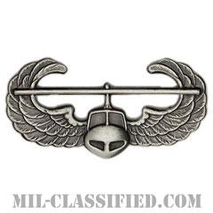 空中突撃章 (エアアサルト)(Air Assault Badge)[カラー/燻し銀/バッジ]の画像