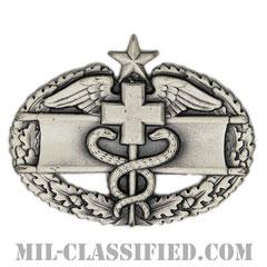 戦闘医療章 (セカンド)(Combat Medical Badge (CMB), Second Award)[カラー/燻し銀/バッジ]の画像