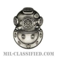 潜水員章 (2級)(Diver Badge, Second Class)[カラー/燻し銀/バッジ]の画像