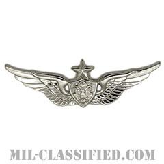 航空機搭乗員章 (シニア・エアクルー)(Army Aviation Badge (Aircrew), Senior)[カラー/鏡面仕上げ/バッジ]の画像