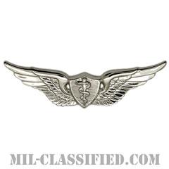 飛行医師章 (ベーシック)(Flight Surgeon, Basic)[カラー/鏡面仕上げ/バッジ]の画像