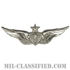 飛行医師章 (シニア)(Flight Surgeon, Senior)[カラー/鏡面仕上げ/バッジ]の画像