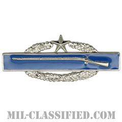 戦闘歩兵章 (セカンド)(Combat Infantryman Badge (CIB), Second Award)[カラー/鏡面仕上げ/バッジ]の画像