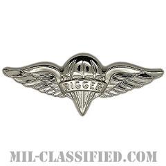 パラシュート整備士 (パラシュートリガー)(Parachute Rigger Badge)[カラー/鏡面仕上げ/バッジ]の画像