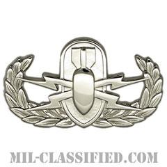 爆破物処理章 (ベーシック) (Explosive Ordnance Disposal (EOD), Badge, Basic)[カラー/鏡面仕上げ/バッジ]の画像