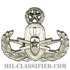 爆破物処理章 (マスター) (Explosive Ordnance Disposal (EOD), Badge, Master)[カラー/鏡面仕上げ/バッジ]の画像
