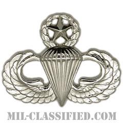 空挺章 (マスター)(Parachutist Badge, Master, Master)[カラー/鏡面仕上げ/バッジ]の画像