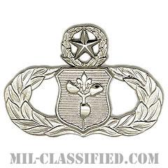 気象章 (マスター)(Meteorologist Badge, Master)[カラー/鏡面仕上げ/バッジ]の画像