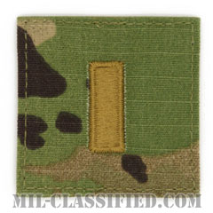 少尉(Second Lieutenant (2LT))[OCP/階級章/ベルクロ付パッチ]の画像