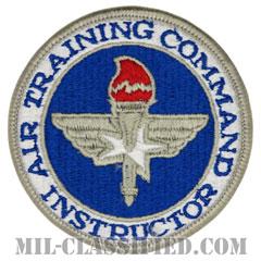 航空訓練軍団指導者章 (インストラクター)(Air Training Command, Instructor)[カラー/メロウエッジ/パッチ]の画像